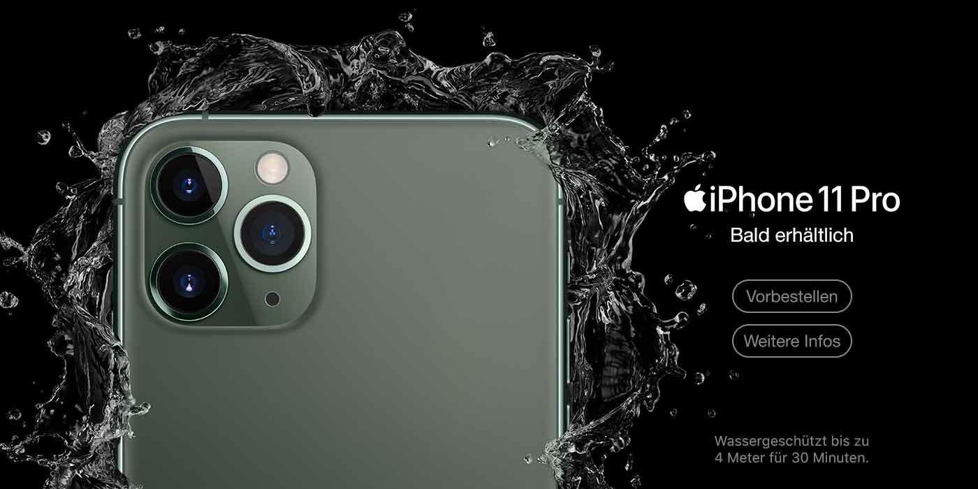 iPhone 11 Pro und Max Pre Order