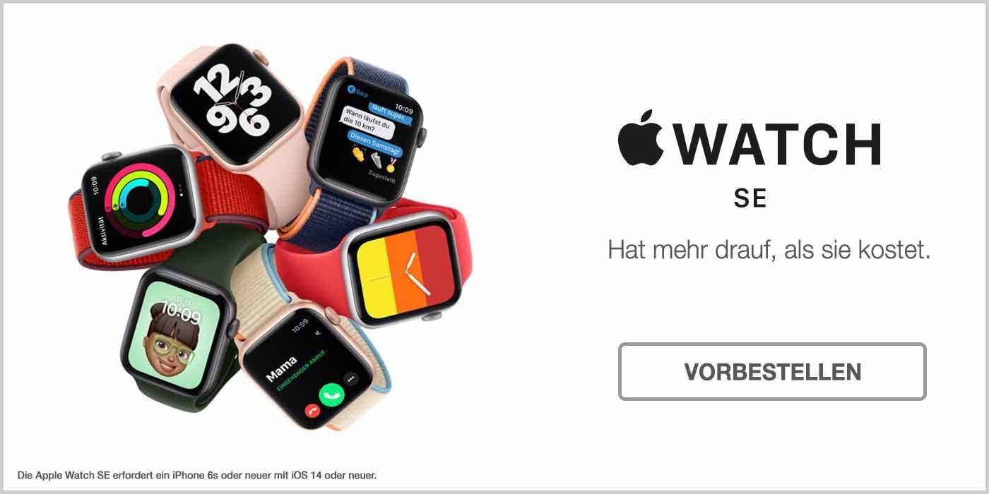 Apple Watch SE vorbestellen