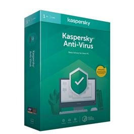 Kaspersky Kaspersky Anti-Virus 2020 1user