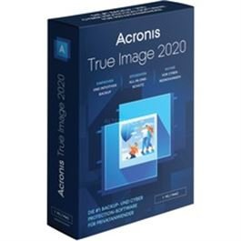 Acronis TrueImage 2020 Box 3 Computer DE