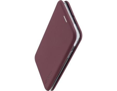 COMMANDER Samsung A71 Book Case CURVE Soft Touch Bordeaux