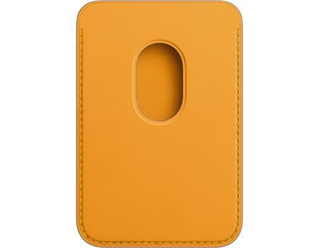 Apple iPhone Leder Wallet mit MagSafe california poppy